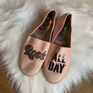 Sam Edelman Rose All Day Espadrille Flats | Size 8